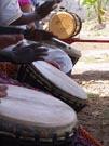 drummers in Conakry, Guinea